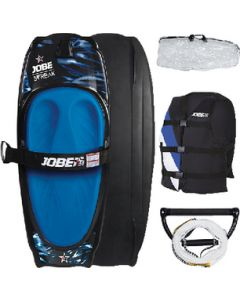 Jobe 258816002 Streaker Kneeboard Package / Includes Vest, Rope, Handle & Bag