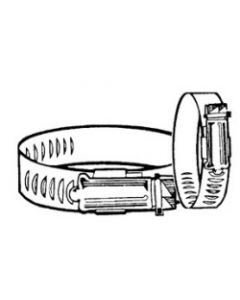 """S&J 1-1/16""""-2"""" Stainless Steel Hose Clamp - S & J Products"""