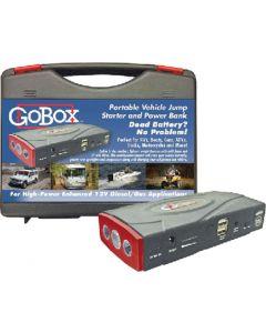 Go Box Jumpstarter/Power Box - Gobox Portable Vehicle Jump Starter And Power Bank