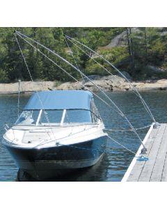 Dock Edge Boat Mooring Whip, 12', Lines&Hdw, 50