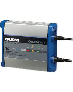 Marinco 2710A Guest Chargepro On-Board Battery Charger, 10 Amps, 1 Bank