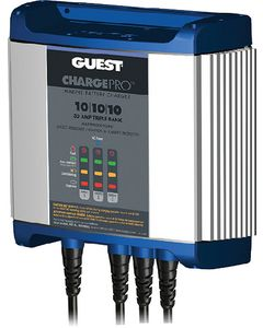 Marinco 2731A Guest Chargepro On-Board Battery Charger, 30 Amps, 3 Banks