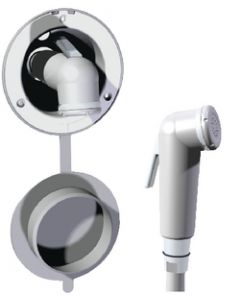 Whale Water Systems Swim 'N' Rinse Compact Shower