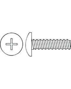 Alloy Fasteners Ph Mach Pan 10-24X1 1/4 100/Bx - Phillips Machine Screw - Pan Head