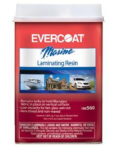 Evercoat Laminating Resin Quart No Wax