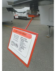 Noble RV Fifth Wheel Sign Holder - Ez Sign Holder
