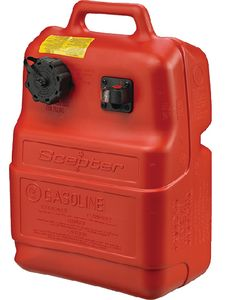 Scepter 6 Gallon Fuel Tank w/Gauge & EPA Cap 8580