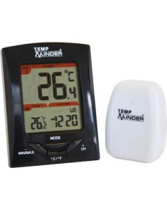 The Minder Research Inc Thermometer W/Remote Transmitr - Tempminder&Reg; Compact Wireless Thermometer