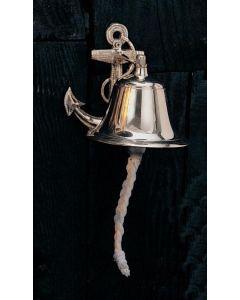 "High Shine Ship's Anchor Bell, 8"""