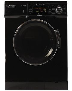 Super Combo Black W/Chm Trim - Super Combo Washer And Dryer