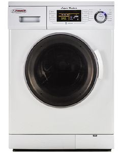 Washer White W/Silver Trim - Super Washer