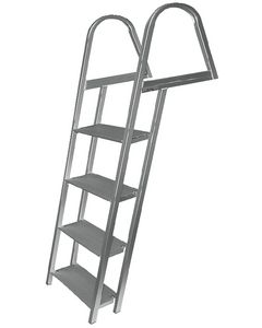 JIF Marine, LLC 4 Step Dock Ladder, Galvanized - Jif Marine