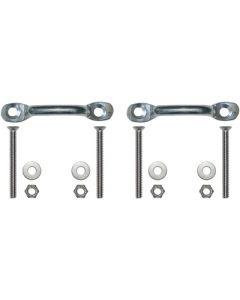 JIF Marine, LLC Extra Ladder Attachment Kit, 2 sets per pack - Jif Marine