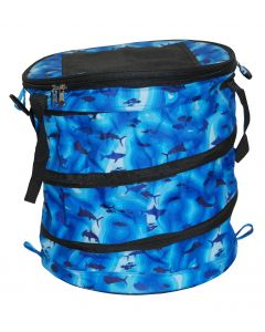Taylor Made Collapsible Cooler Blue Sonar