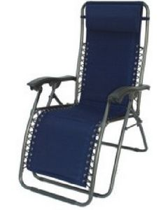 Prime Products Recliner/Lounger Blue - Del Mar Recliner/Lounger