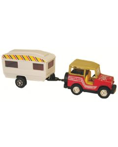 Prime Products Rv Action Toy S.U.V. & Trailer - Rv Action Toys