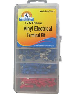 S&J Electrical Terminal Kit 175pcs - S & J Products