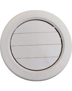 A/C Ceiling Reg. Adj. 5 Blk - Adjustable Ceiling Vent