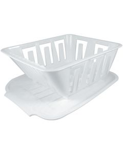 OP Products DISH DRAINER SET POLAR WHITE