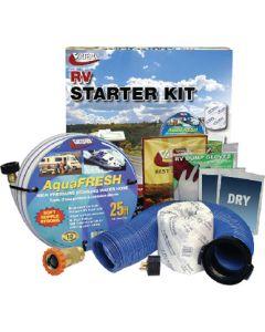 Valterra Rv Starter Kit Std W/Wtr Reg - Standard Rv Starter Kit W/ Water Regulator