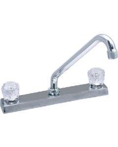 """Valterra 8In. Kitchen Faucet - 8"""" Kitchen Faucet W/ Hi-Rise Tubular Spout"""