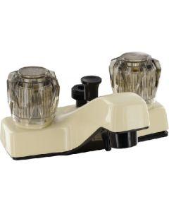 Valterra 4  Lav W/D-Spud Parchment - Lavatory Diverter Faucets