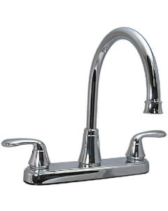 "Valterra 2 Handle Hybrid 8In Kitchen Fa - Two Handle 8"" Hi-Arc Hybrid Lavatory Faucet"