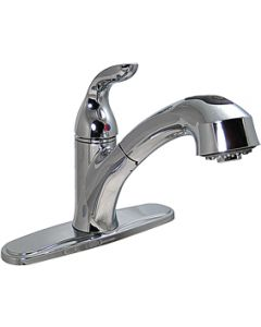 "Valterra 1 Handle Hybrid 8In Kitchen - 8"" Hybrid Kitchen Faucet W/Pullout Spout"