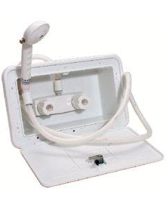 Valterra Wash Down Kit White - Exterior Shower