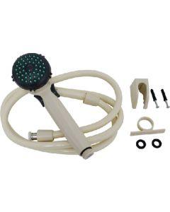 Valterra Handshwr St/Classc/Adj/Biscuit - Single Function Hand Held Shower