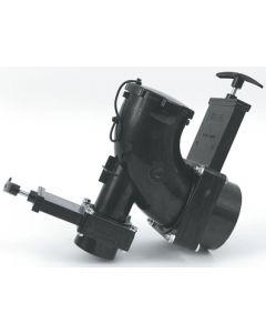 "Valterra 3  Heel Inlet Dbl Valves - 3"" & 1-1/2"" Heel Inlet 1/4 Bend Double Rotating Valve Assembly"