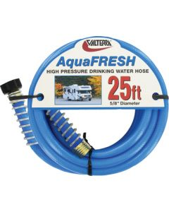 "Valterra Blue AquaFresh High Pressure RV Drinking Water Hose, 1/2"" x 10'"