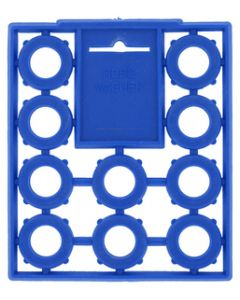 Bell HOSE WASHERS BLUE 10/CARD