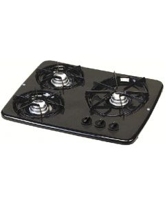 Atwood Mobile Drop-In 3 Burner Blk  Dv 30B - Vision Drop-In Cooktops