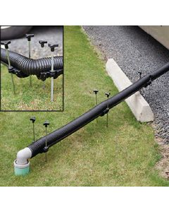 Flow Down Kit Sewer Hose - Flow Down&Trade; Drain Support System