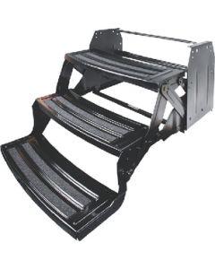 Step-Manual Quad 24 Radius - Manual Steel Entry Steps