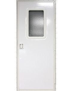 Door-Rv Sq Rh Polar-Wht 36X72 - Rh Square Entry Door