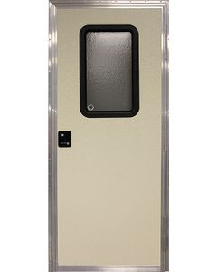 Door-Rv Sq Rh Off-White 24X70 - Rh Square Entry Door