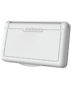 Receptacle Cover White 15A - Weatherproof Outdoor Receptacle Cover