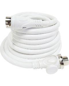 50' 50 Amp LED Powersmart 125V/250V Cordset, White