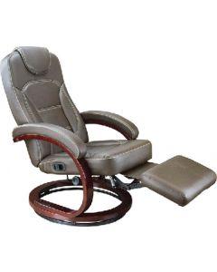 Euro Recliner Xl Brwd Chestnut - Euro Chair