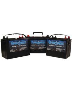 Sportsman Deep Cycle Battery 130 Amp Deep Cycle Battery , 12V