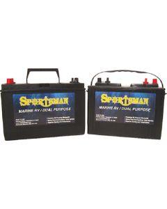 Sportsman Dual Purpose Battery 12V Starting/Cycling