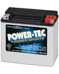 Power-Tec PWC AGM Battery, 19 Amp 400MCA