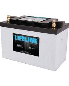 Lifeline AGM Group 31 Battery 12V D/C