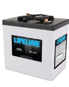Midstate Battery Battery Lifeline Agm 6v D/C