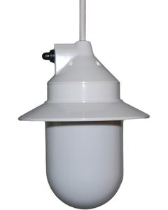 Polymer Products LLC Outdoor Pendant Light (White) - Outdoor Pendant Light