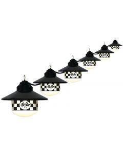 Polymer Products LLC Six Globe Speedway Lights - Globe Lights