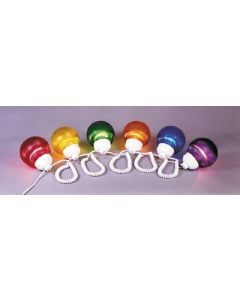 Polymer Products LLC Fixture Multi Color 6  Globes - Globe Lights
