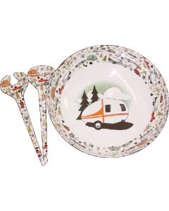Bowl And Server Set-3Pc - Serving Bowl And Servers